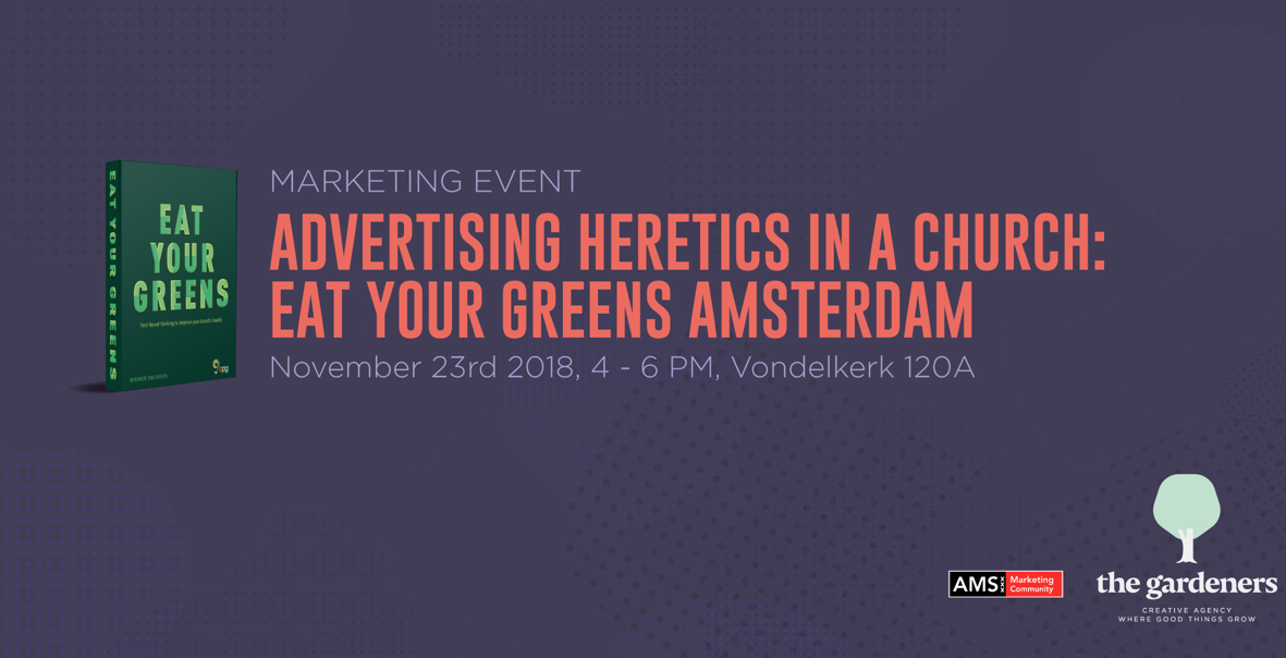 Marketing event: Advertising Heretics in a church