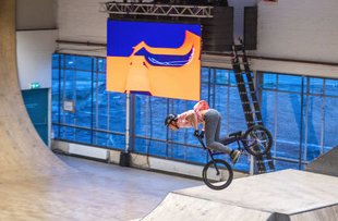 CLEVER°FRANKE visualiseert freestyle BMX