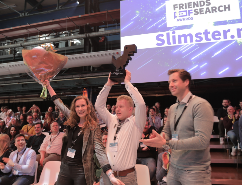 Slimster.nl en Leen Bakker winnaars Friends of Search Awards 2020